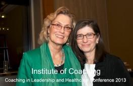 Carol Kauffman; IOC; coaching in leadership; coaching in healthcare