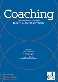 Coaching-An International Journal on Theory, Research & Practice rcoa20.v008.i02.cover